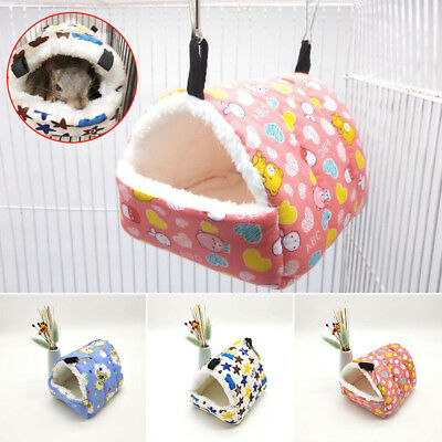 Small Pet Nest Hamster Bed Hammock Rat/Hedgehog Squirrel House Chinchilla Cage