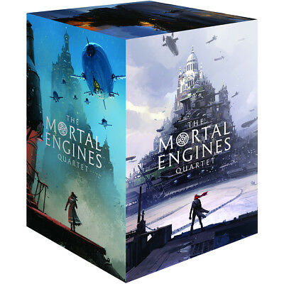 Mortal Engine Quartet Boxed Set By Philip Reeve BRAND NEW Paperback 97817606631