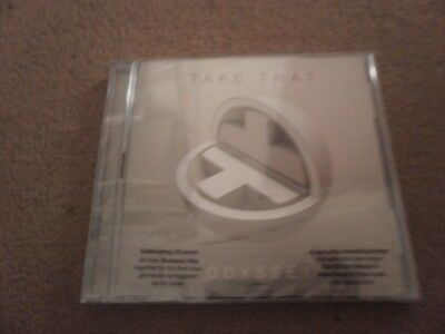 NEW SEALED Take That Odyssey CD DELUXE 2 cds FREE POSTAGE