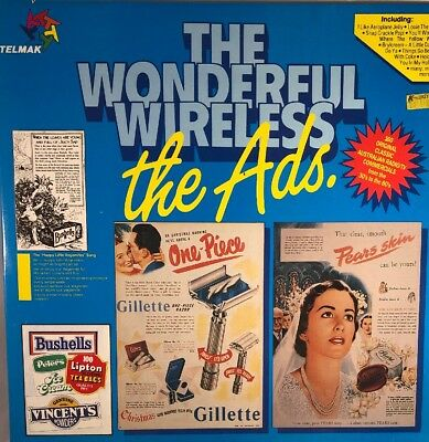 """Various Artists: The Wonderful Wireless - The Ads 12"""" 2Vinyl LP in VG+ Condition"""