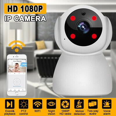AUGIENB WIFI Wireless IP Camera 1080P CCTV Home Security Pan&Tilt  Baby Monitor