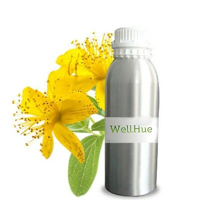 WellHue St John's Wort Essential Oils 100% Natural Aroma Therapy Oil 5ML - 250ML