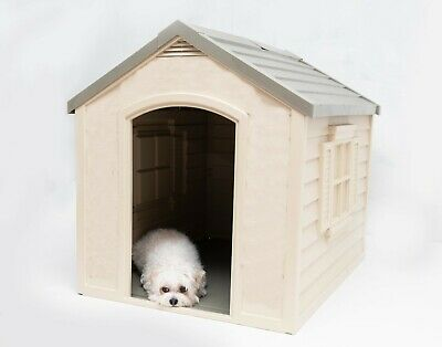 Dog House for Large Breed Dog Pet Kennel Durable Outside Oudoor Weatherproof GP