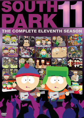 South Park: The Complete Eleventh Season (Season 11) (3 Disc) DVD NEW