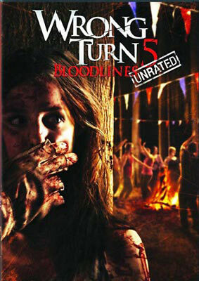 Wrong Turn 5: Bloodlines (Unrated Version) DVD NEW