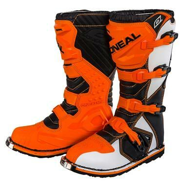 O´Neal Rider Boots MX Moto-cross Motorrad supermoto Stiefel oneal orange 39 / 7