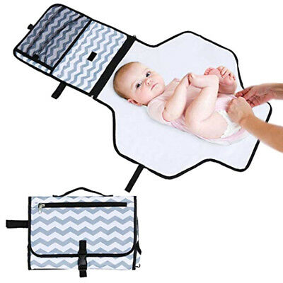 Infant Baby Changing Pad Foldable Travel Toddler Diaper Mat Waterproof Nappy Bag