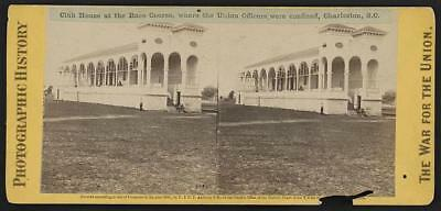 Reproduction,Club House,Race Course,Union Officers,Charleston,South Carolina