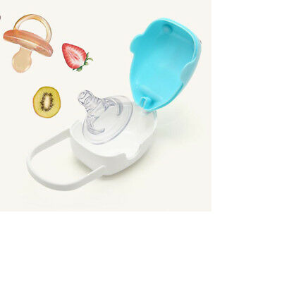 Baby Infant Travel Soother Pacifier Dummy Nipples Portable Storage Box 8C