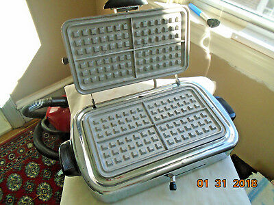 KENMORE Waffle Maker/Grill/ toaster,iron, with cord, vintage, works