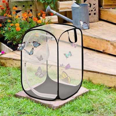 Praying Mantis Stick Insect Cage Butterfly Chameleon Pop-up Housing Enclosure