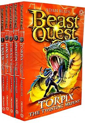 Beast Quest Series 9 Collection 5 Book Set Ursus, Minos, Koraka, Spikefin, Torpi