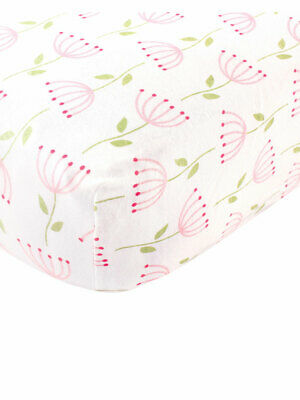 """Touched by Nature Organic Cotton Fitted Crib Sheet (28"""" x 52"""")"""