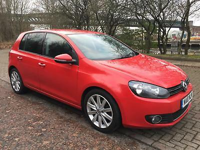 2010 VW Volkswagen MK 6 Golf 2.0TDI 140ps GT Diesel 5 Door manual hatchback