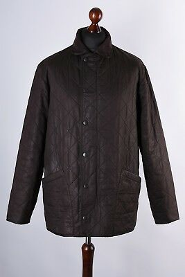 Barbour Duracotton Polarquilt Quilt Jacket Size L