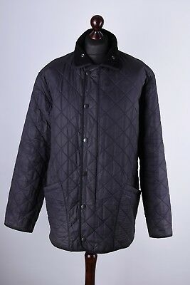 Barbour Duracotton Polarquilt Quilt Jacket Size XL