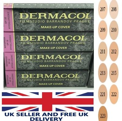 Dermacol Film Studio Legendary High Covering Make Up Foundation Hypoallergenic *