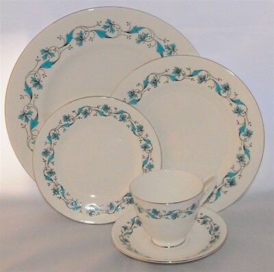 1-Royal Albert Harmony 5 piece Place Setting ( 9 Available ) England