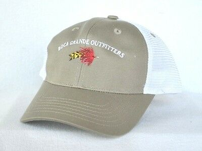 796e26a931980 BOCA GRANDE OUTFITTERS  Florida Saltwater Fly Fishing Ball cap hat ...