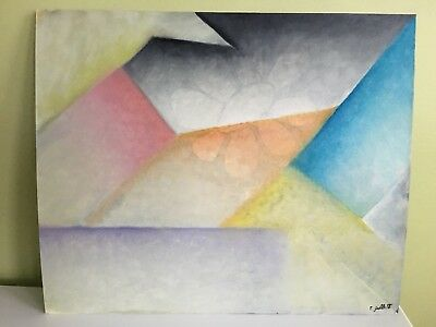 """Charles Lapicque Abstract Painting Serigraph Hand signed 20/""""x24/"""""""