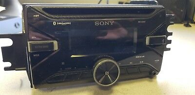 SONY WX-920BT Car Stereo Receiver Radio with GM Harness USED