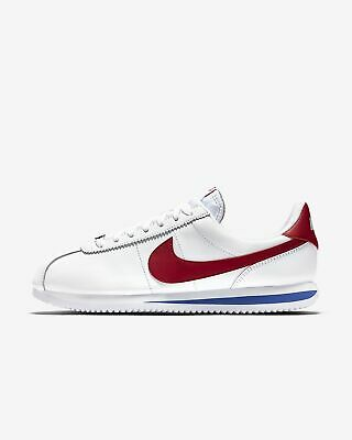 New Nike Men's Classic Cortez OG Leather Shoes (882254-164)  White//Red-Royal