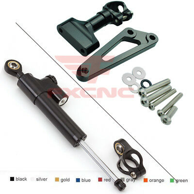 For CB600F Hornet 2007-2016 Steering Damper Stabilizer W/h Bracket Mounting Kit