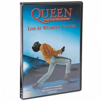 QUEEN - Live At Wembley 25th Anniversary Edition DVD *NEW* NTSC Region 0