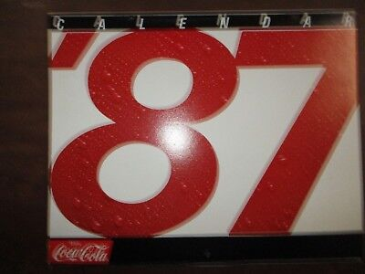 Coca-Cola Calendars 6 Different  1987, 1988, 1990, 1991, 1997, 1999  Nos  Mint