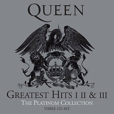 QUEEN - Greatest Hits I II & III Platinum Collection CD *NEW*