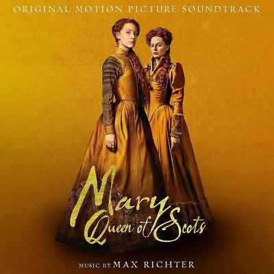 MARY QUEEN OF SCOTS - Max Richter Soundtrack Score CD *NEW* 2018