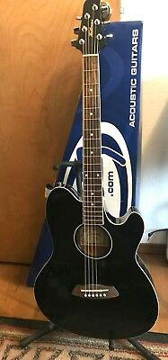 Ibanez Talman Tcy10e Acoustic Electric Guitar Black 79 00 Picclick