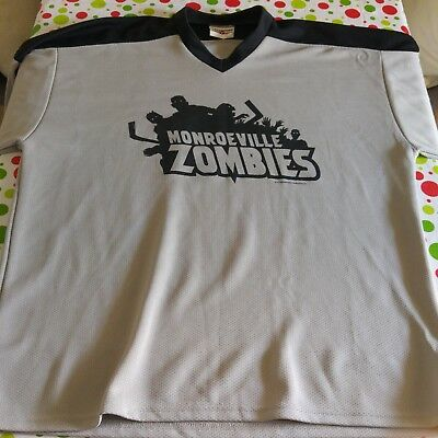 Monroeville Zombies Hockey Jersey XL
