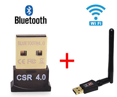 Bluetooth Adapter 4.0 USB 2.0 CSR 4.0 Dongle for Windows and Linux OS