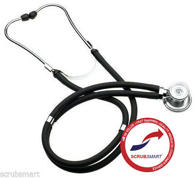 US Seller FAST Shipping SPRAGUE RAPPAPORT DUAL HEAD STETHOSCOPE - Color Black