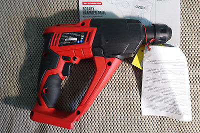 NEW Ozito PXRHS-300 Power X Change Cordless Rotary Hammer Drill 18V