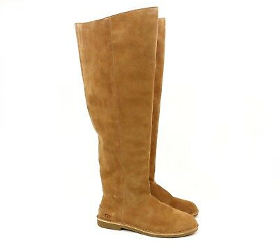 4e8c9f4c375 UGG Australia LOMA OVER THE KNEE Chestnut Tall Suede Boots 1095394 US 11  NEW!
