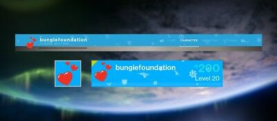 Destiny 2 Bungie Foundation Planet Of Peace Emblem (CODE ONLY: xbox,PS4, PC) New