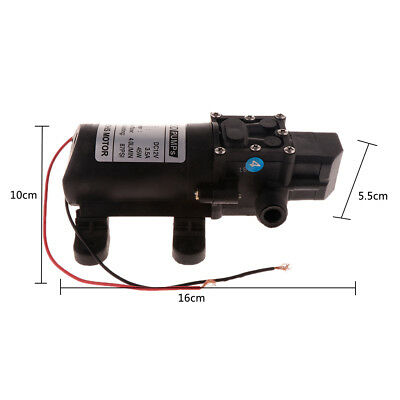 DC 12V Electric Water Pump Micro High Pressure Diaphragm Water Sprayer