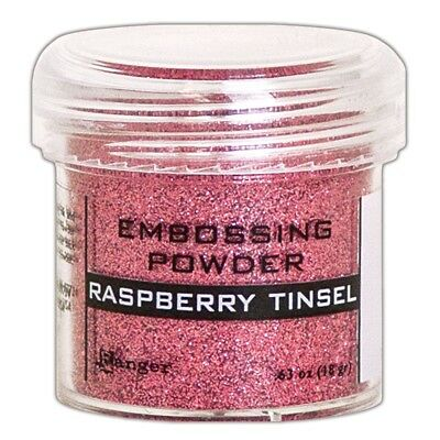 Ranger Embossing Powder 1oz. - Raspberry Tinsel