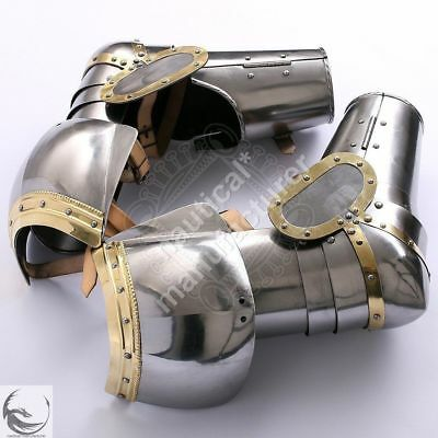Medieval Armor Arm Guard of the 15th century SCA LARP Reproduction & Reenactment