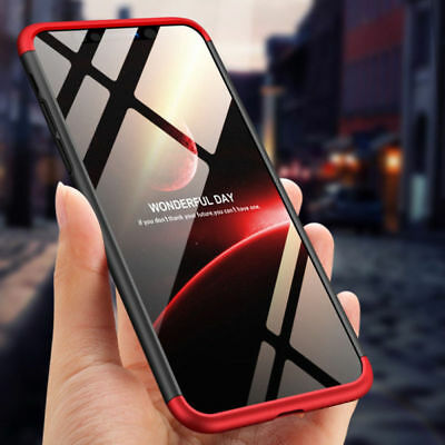 Hybrid Full Cover Shockproof Hard Strong Case For Samsung Galaxy S8 Plus