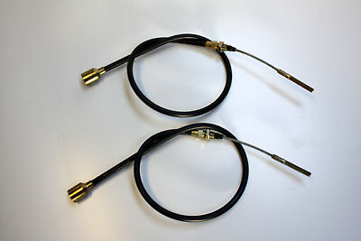2 Pcs Bowden Cable Brake for Knott 300x60 Hl = 1100 Gl = 1360 Trailer X-Ebg 25.1