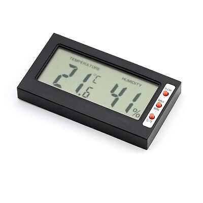 Car Digital LCD Thermometer Hygrometer Temperature Humidity Meter Indoor Gauge