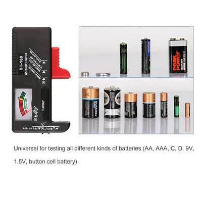 BT-168 Universal Battery Tester for AA/AAA/C/D/9V Button Cells Voltage Tester