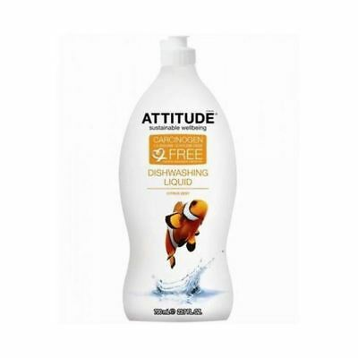 Attitude Washing Up Liquid - Citrus Zest [700ml] x 9 Pack