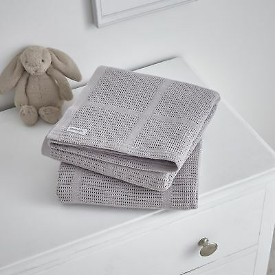 Silentnight Safe Nights Cellular baby blanket - 2 Pack - Pink or Grey