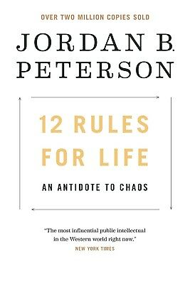 12 Rules for Life : An Antidote to Chaos By Jordan B Peterson Hardback BRAND NEW