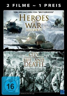 Heroes of War - Assembly & City of Life and Death - DVD/NEU/OVP