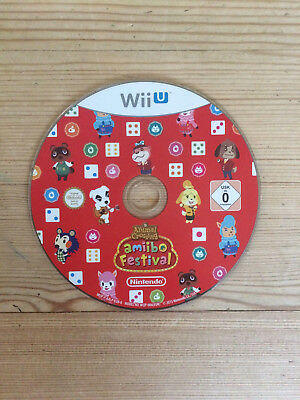Animal Crossing Amiibo Festival for Nintendo Wii U *Disc Only*